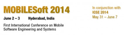 MobileSoftware Engineering Conference 2014